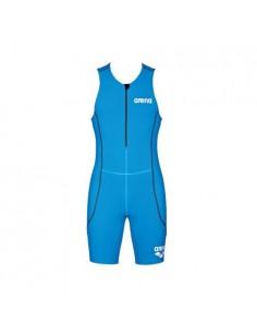 Arena Mono Triatlon WOMAN TRISUIT ST FRONT ZIPPER Azul