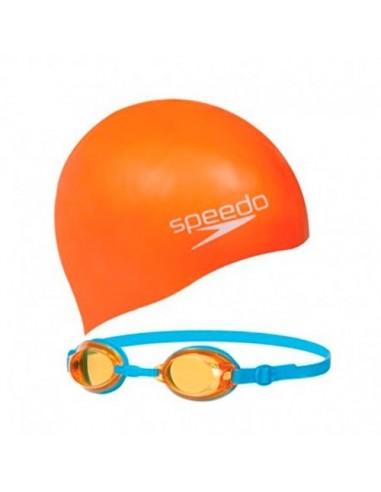 Gorro + Gafas Speedo Jet Swim Set