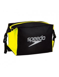 Speedo Bolsa POOL SIDE BAG Negro/Amarillo