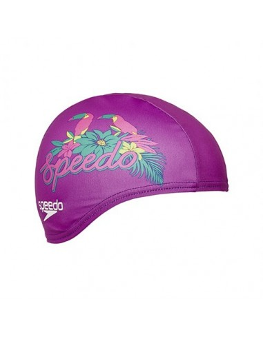 Speedo Gorro Poliester PRINTED JUNIOR