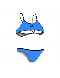 NCS Bikini Entrenamiento Mujer Azul