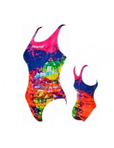 Mosconi Bañador Entrenamiento Ice Cubes Mujer