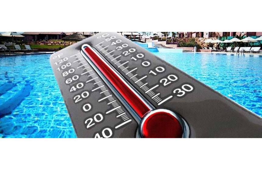 ¿ Cuál es la temperatura óptima en la piscina?