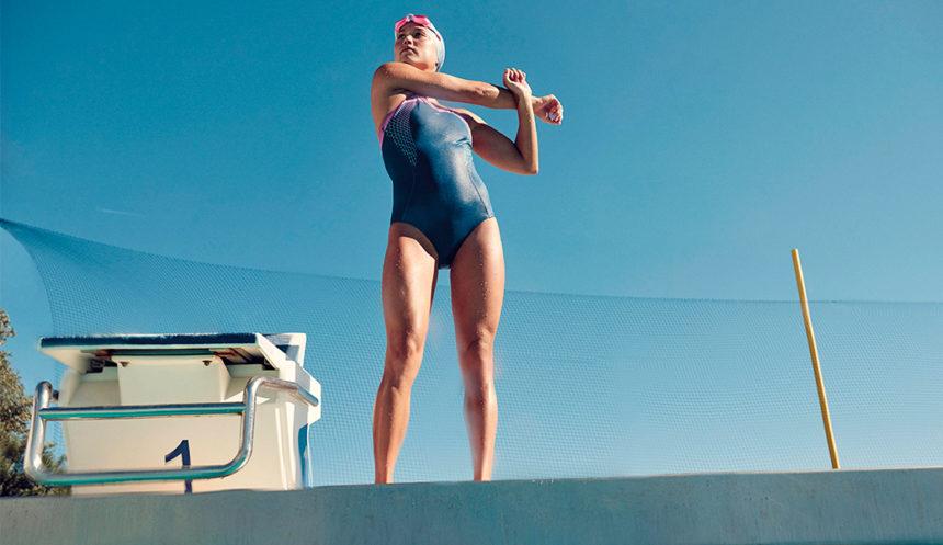 La importancia del tejido en los bañadores de natación