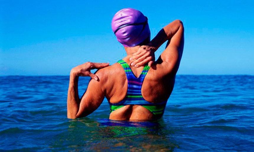 4 lesiones comunes de natación : Prevención y Tratamiento