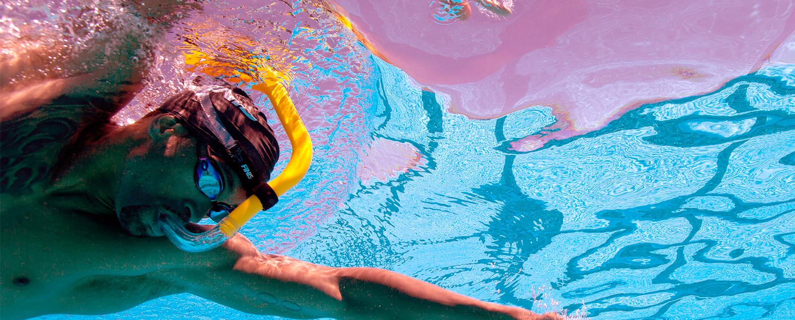 Tubo Frontal Finis Snorkel Adulto FREESTYLE
