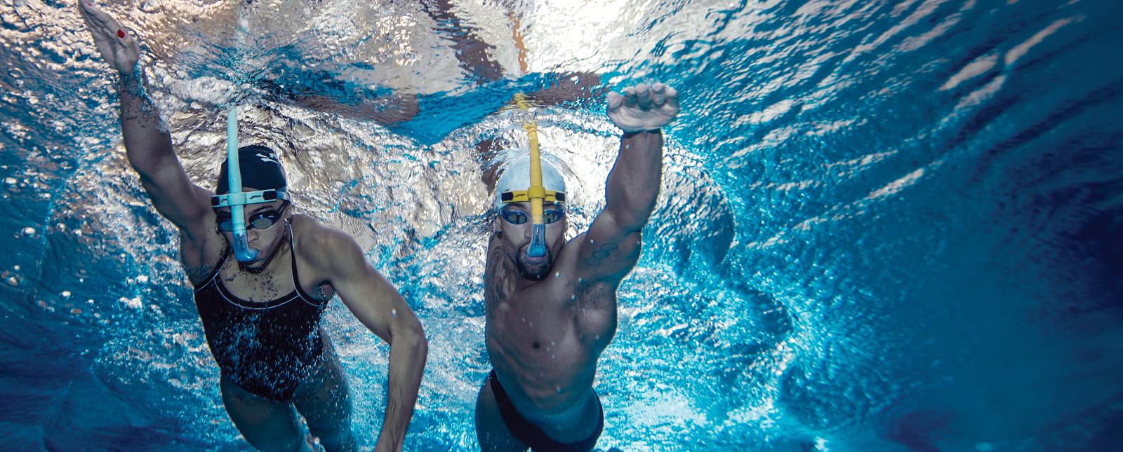 Snorkel Tubo Frontal de natación Finis Glide