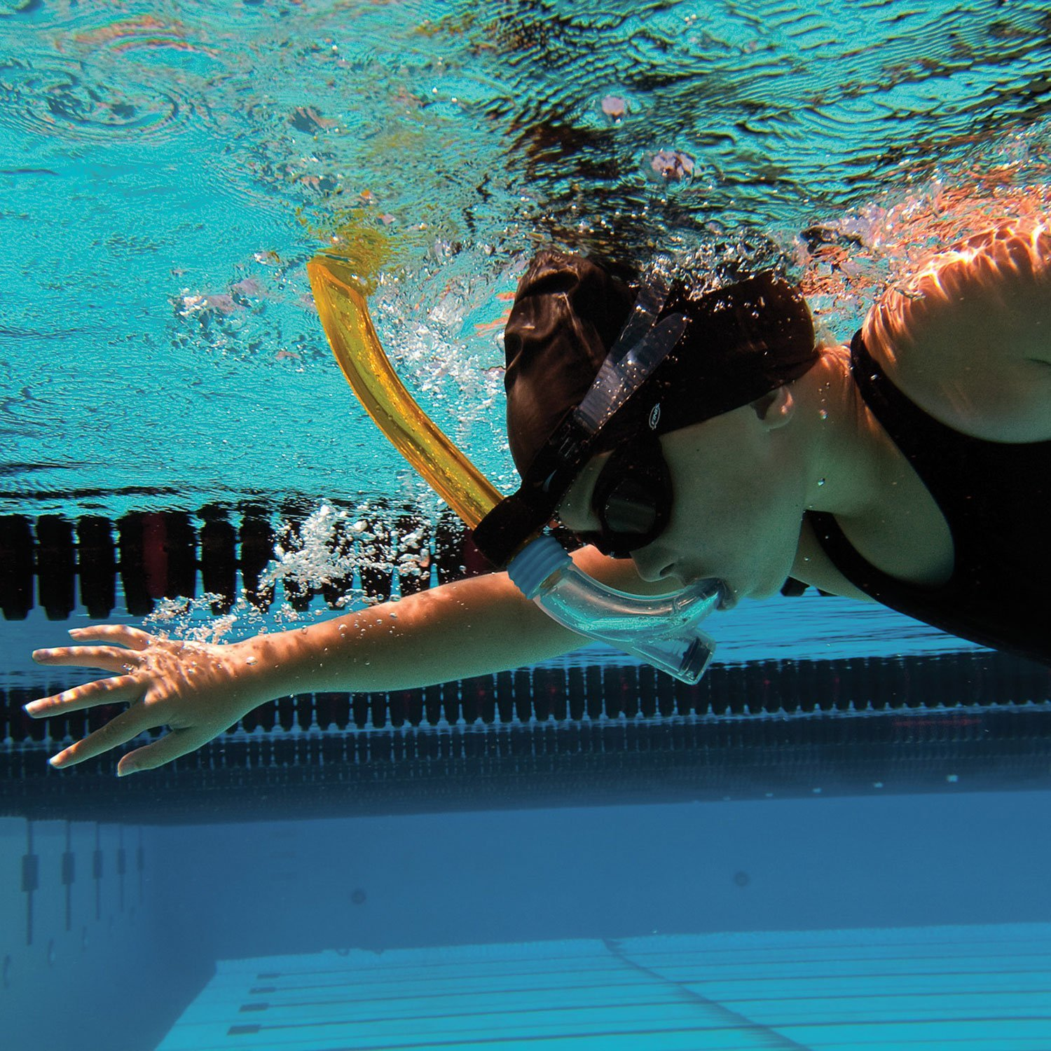 Snorkel natación Junior Finis Tubo Frontal
