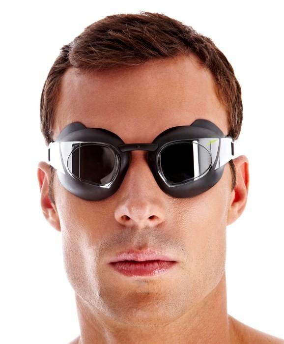 Speedo Gafas Espejo FASTSKIN SUPER ELITE Negro
