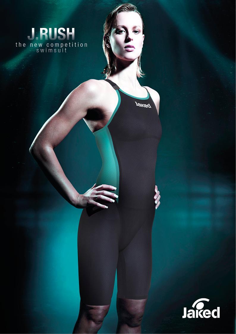 Jaked Bañador de Competición JRush Knee Suit OB mujer