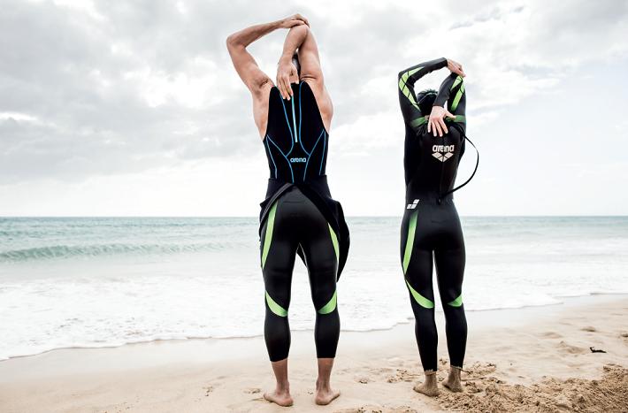 Arena mono de triatlón Triwetsuit Carbon para mujer