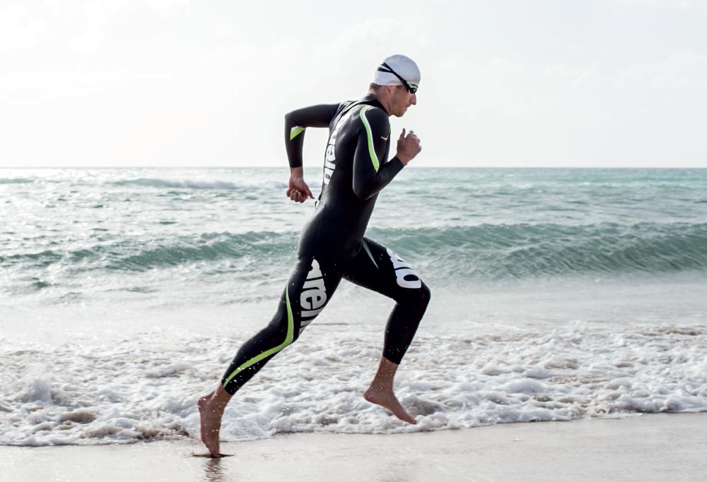 Arena traje de triatlón Triwetsuit Carbon para hombre