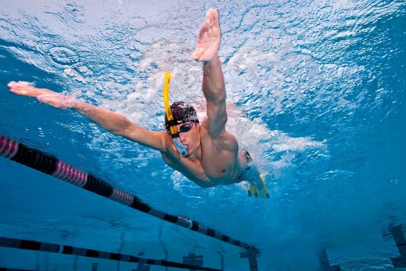 SWIMMER´S Snorkel Adulto Finis Tubo Frontal de natación