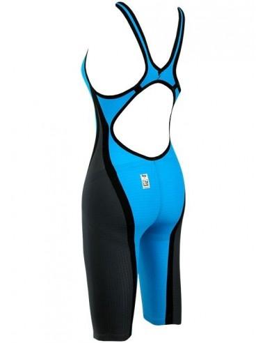 Arena CARBON FLEX FULL BODY Bañador de Competición Mujer  Gris Oscuro-Rojo
