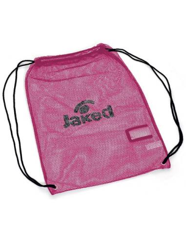 Jaked Red TETRIS MESH BAG