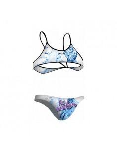 NCS Bikini BE WATER AZUL Mujer