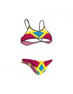 NCS Bikini AMARILLO FLÚOR Mujer