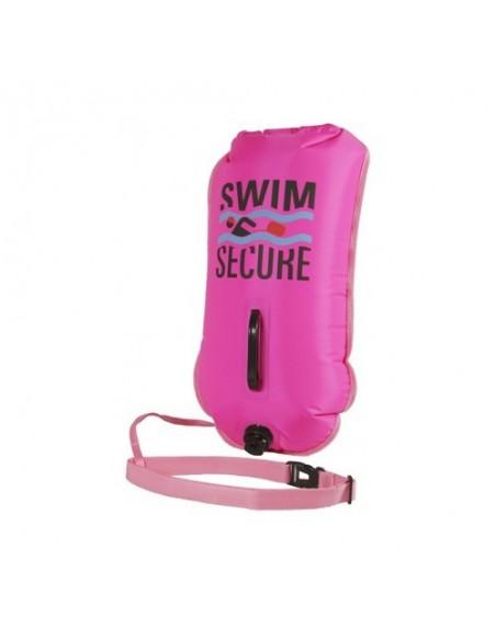 Swim Secure Boya Natación DRY BAG Aguas Abiertas Rosa