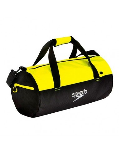 Speedo Bolsa DUFFEL BAG Negro/Amarillo