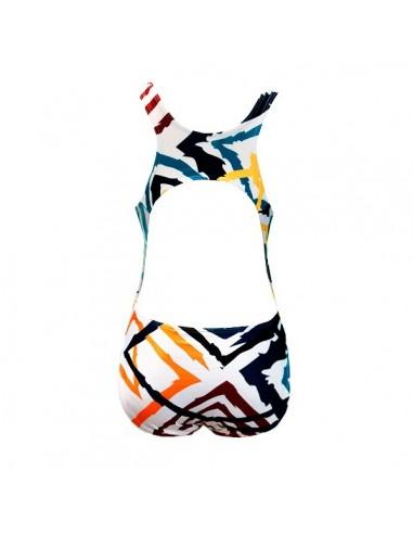 NCS Bañador Entrenamiento Abstracto Mujer Tirante Ancho