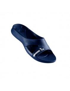 Arena Sandalias Piscina Hydrosoft Slide Mujer Azul