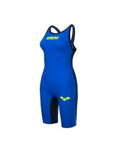 Arena Bañador Competición Powerskin Carbon Air Mujer - Azul
