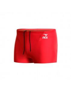 NCS Bañador Boxer Flat New Hombre - Rojo