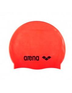 Gorro Silicona Arena Classic - Naranja