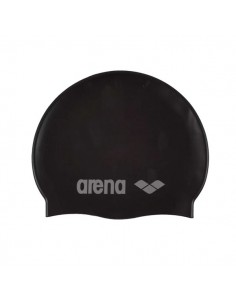Arena Gorro Silicona Classic Junior - Negro