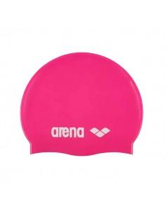 Arena Gorro Silicona Classic Junior - Fucsia