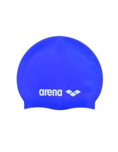Arena Gorro Silicona Classic Junior - Azul