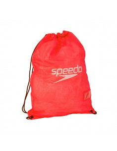 Speedo Red Porta-Material Equipment Mesh Bag - Rojo