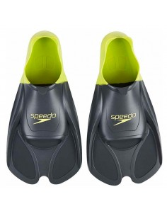 Speedo Aletas Training Fin - Negro / Verde