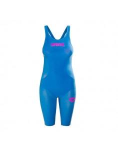 Arena Bañador Competición Powerskin R-Evo One Mujer - Azul