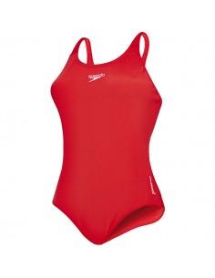 Speedo Bañador Entrenamiento Essential Endurance+ Medalist Mujer - Rojo