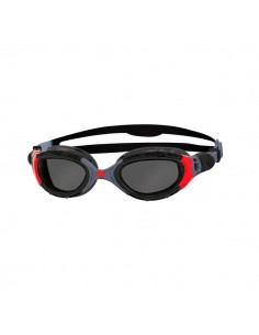 Zoggs Gafas Natación Predator Flex Polarized Negro / Rojo - Negro / Rojo