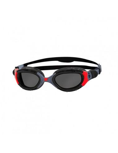 3b5c246dec1b Zoggs Gafas Natación Predator Flex Polarized Negro / Rojo