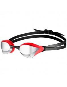 Arena Gafas Natación Cobra Core Mirror Rojo