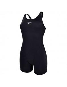 Speedo Bañador Entrenamiento Essential Endurance+ Legsuit Mujer Negro