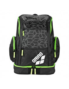 Arena Mochila Spiky 2 Large BackPack - Negro / Verde