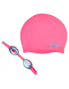 Speedo Gafas Jet Junior Swim Set - Rosa / Turquesa