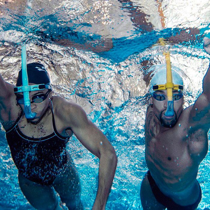 que es la respiracion frontal y lateral en la natacion