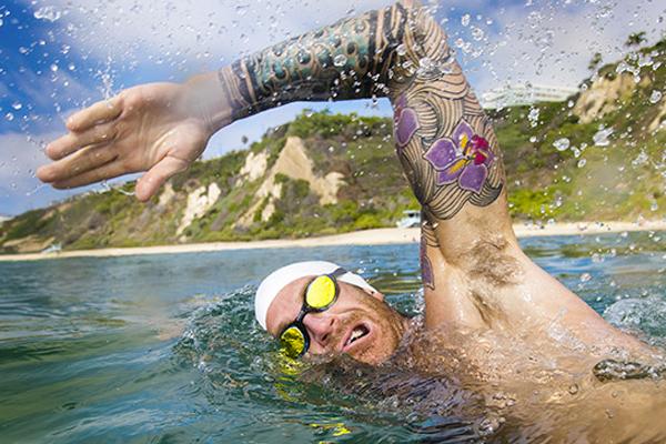 como respirar en aguas abiertas
