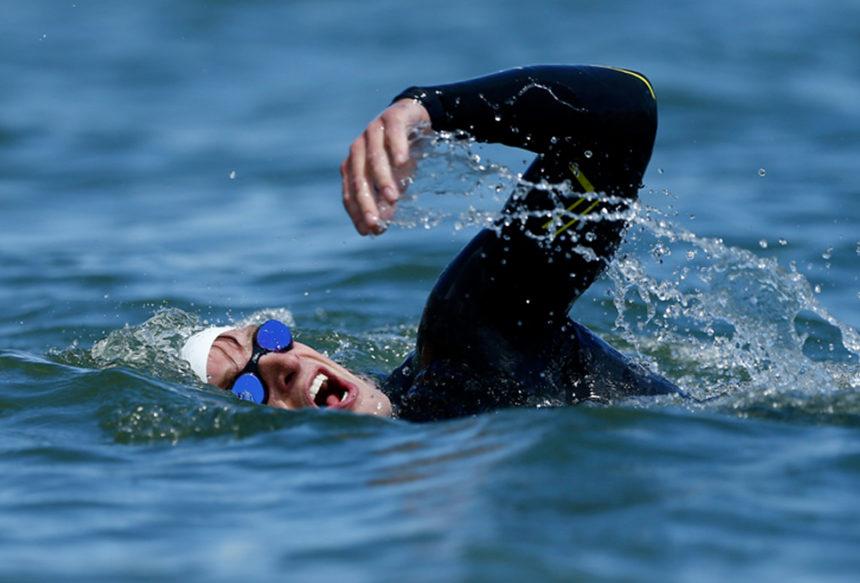 Respirar en aguas abiertas Vs respirar en la piscina