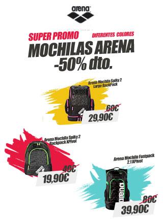 Ofertas Mochila Arena
